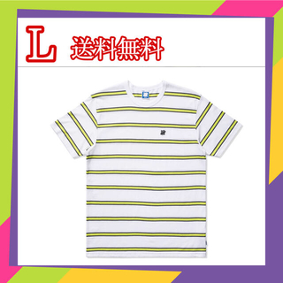 アンディフィーテッド(UNDEFEATED)のUNDEFEATED STRIPED S/S TEE XL (Tシャツ/カットソー(半袖/袖なし))