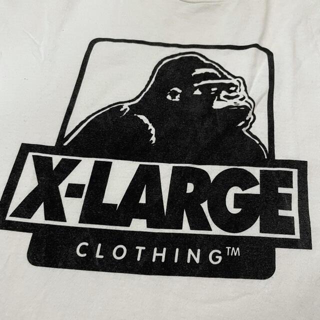 XLARGE(エクストララージ)のX-LARGE エクストララージ ゴリラ ロゴTシャツ Lサイズ メンズのトップス(Tシャツ/カットソー(半袖/袖なし))の商品写真