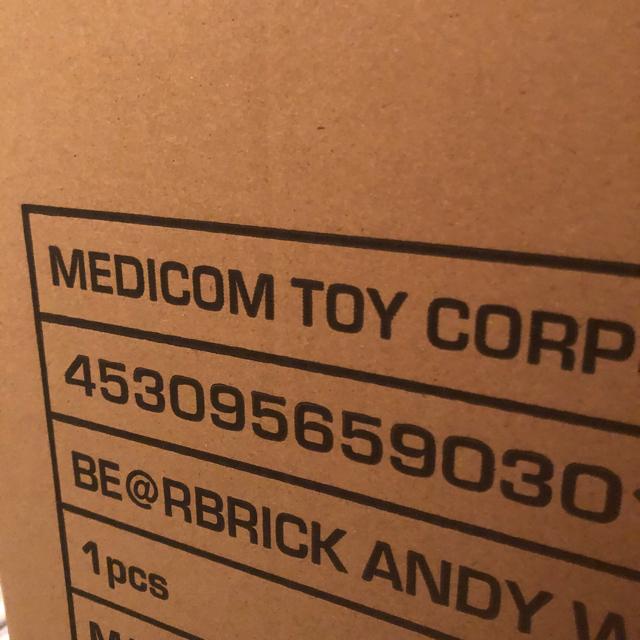 """MEDICOM TOY(メディコムトイ)のBE@RBRICK ANDY WARHOL """"Brillo"""" 1000% エンタメ/ホビーのフィギュア(その他)の商品写真"""