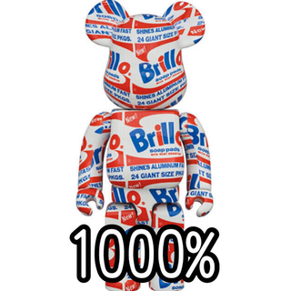 "MEDICOM TOY - BE@RBRICK ANDY WARHOL ""Brillo"" 1000%"