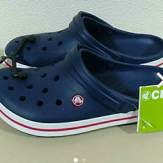 crocs - 6★ネイビークロックス