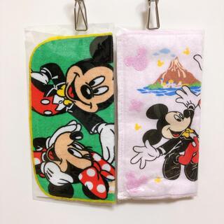 Disney - ディズニー タオルハンカチ ミニタオル