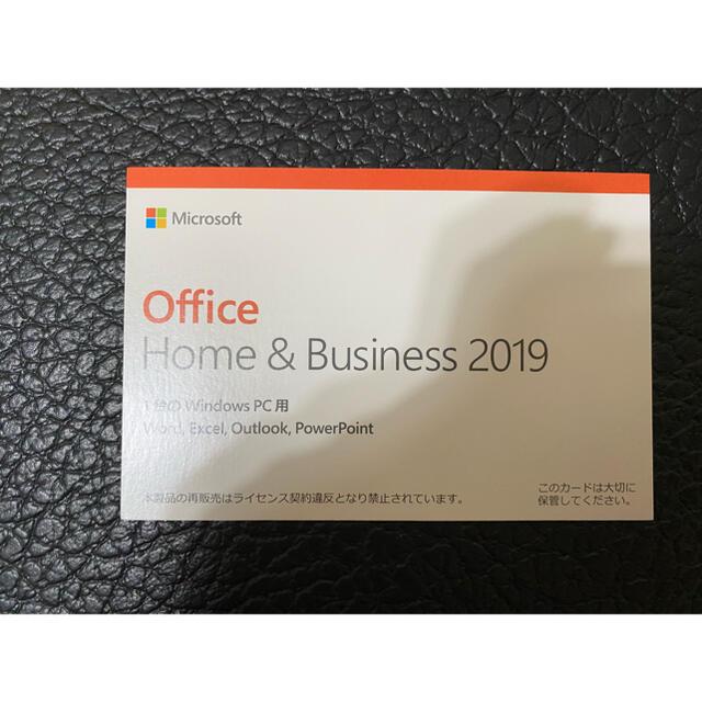 Microsoft(マイクロソフト)のOffice HOME&business 2019 スマホ/家電/カメラのPC/タブレット(PC周辺機器)の商品写真