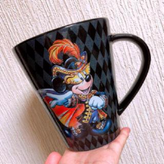 ディズニー(Disney)のTDS ディズニー ハロウィン 2009 ミスマス ミッキー マグカップ 大(グラス/カップ)
