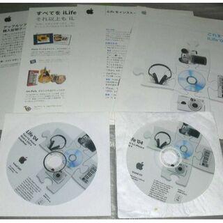 マック(Mac (Apple))のMac 各種 iLife Install DVD(その他)