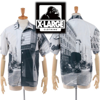 XLARGE - 美品 XLARGE S/S OPEN COLLAR SHIRT
