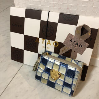 ATAO - 【ATAO】waltz ヴィトロシリーズのコンパクト財布