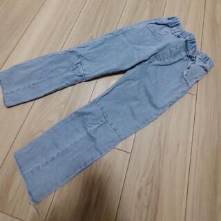 ザラ(ZARA)の韓国こども服 切りっぱなしデニムパンツ120cm(パンツ/スパッツ)