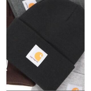 カーハート(carhartt)のCarhartt ニット帽 ブラック(ニット帽/ビーニー)