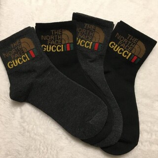 THE NORTH FACE - 特価🌷新品🌷THE NORTH FACE×GUCCI メンズ靴下4足組
