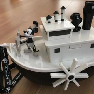 Disney - Disney 蒸気船ウィリーポップコーンバスケット【新品】