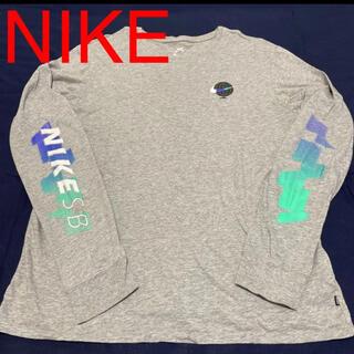 ナイキ(NIKE)の【匿名配送】NIKE ロンT 両腕ロゴ有り(Tシャツ/カットソー(七分/長袖))