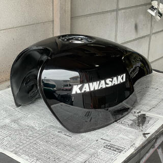 カワサキ - 美品 ゼファー400/χ 純正ガソリンタンク 黒 keeperコーティング済み