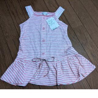 エニィファム(anyFAM)のエニィファム anyFAM ノースリーブ チュニック  Tシャツ 110センチ(ワンピース)