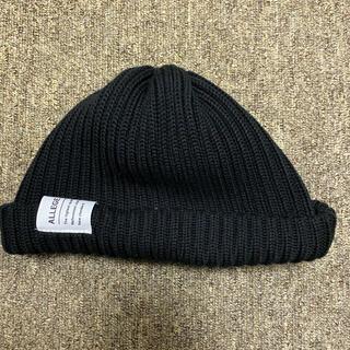 アレッジ(ALLEGE)のallege ニット帽(ニット帽/ビーニー)
