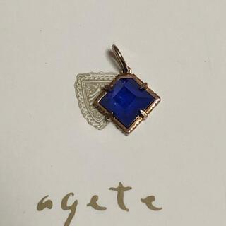 agete - 【美品】アガット チャーム K10 agete