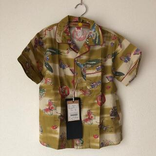 ゴートゥーハリウッド(GO TO HOLLYWOOD)の新品タグ付きゴートゥーハリウッドプリントシャツ140(ブラウス)