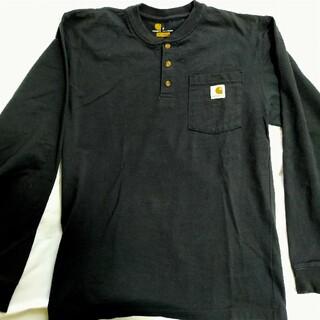 カーハート(carhartt)のCarhartt ヘンリーネックTシャツ Sサイズ ロンT(Tシャツ/カットソー(七分/長袖))