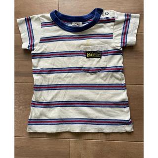 JUNK STORE - ジャンクストア 半袖 Tシャツ 95cm 白 青 赤 ボーダー