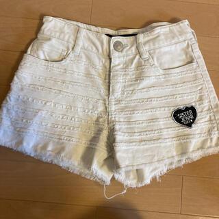 ジェニィ(JENNI)のJENNI 150 160 ショートパンツ 白 女の子 普段着 小学生 夏(パンツ/スパッツ)