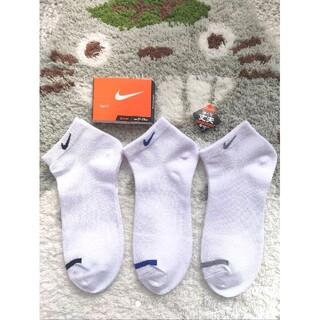 ナイキ(NIKE)のNIKE 靴下 白 21〜23cm ソックス 3足セット②(ソックス)