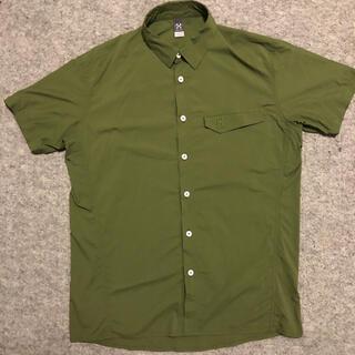Haglofs - ホグロフス 半袖シャツ