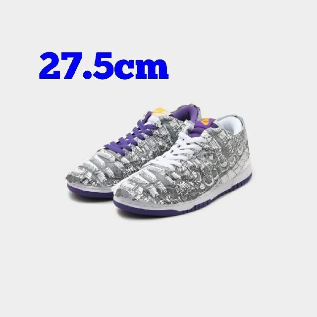 NIKE(ナイキ)の27.5 NIKE WMNS DUNK LOW MADE YOU LOOK メンズの靴/シューズ(スニーカー)の商品写真