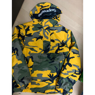 Supreme - 激レアM!supreme Hooded Logo Half Zipジャケット