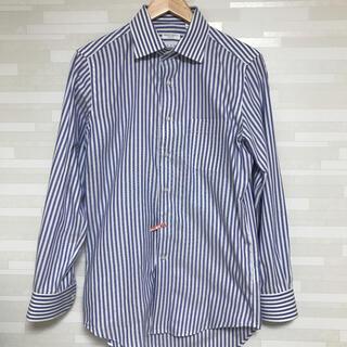 THE SUIT COMPANY - 極美品❗️着用1回のみ‼️スーツカンパニー ストライプシャツ