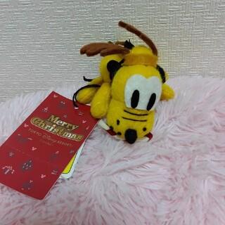 ディズニー(Disney)のディズニー プルート ぬいぐるみ キーホルダー(キャラクターグッズ)