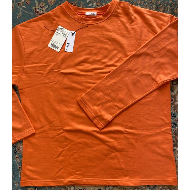 TODAYFUL(トゥデイフル)のv ia j ロングTシャツ レディースのトップス(Tシャツ(長袖/七分))の商品写真
