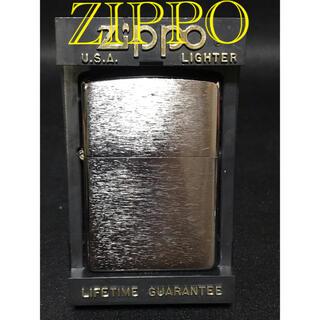 ジッポー(ZIPPO)のZIPPO ジッポー  クロムメッキ サティーナ仕上げ  2014年製(タバコグッズ)