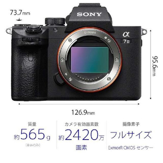 ソニー(SONY)のSONYミラーレス一眼カメラ α7III おまけ付き(ミラーレス一眼)