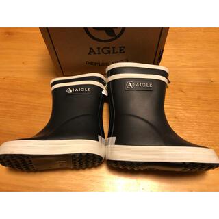 エーグル(AIGLE)の[新品] AIGLE エーグル 長靴 レインブーツ ラバーブーツ サイズ19(長靴/レインシューズ)