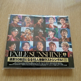 エグザイル(EXILE)のSUNSHINE(DVD付)(ポップス/ロック(邦楽))