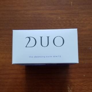 朝まで値下げ:DUOザ クレンジングバーム ホワイト+ザローション