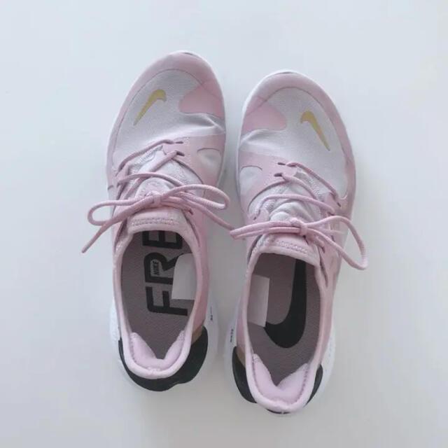 NIKE(ナイキ)のナイキ プーマ アディダス 25 ピンク スニーカー ジョギング レディースの靴/シューズ(スニーカー)の商品写真