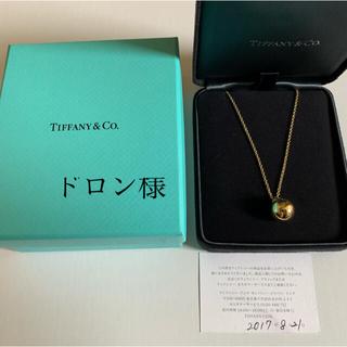 Tiffany & Co. - ティファニー ハードウェア ボール ペンダント イエローゴールド 12.75mm