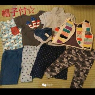 エフオーキッズ(F.O.KIDS)の男の子サイズ80 10点まとめ売り(Tシャツ)