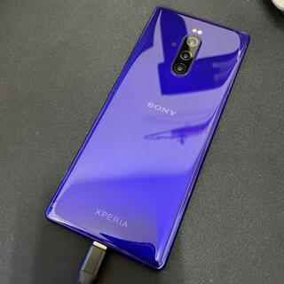 Xperia - 【美品 ・ SIMフリー】Xperia 1 802SO パープル