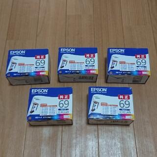 エプソン(EPSON)のEPSON エプソンインクカートリッジIC4CL695箱セット(オフィス用品一般)