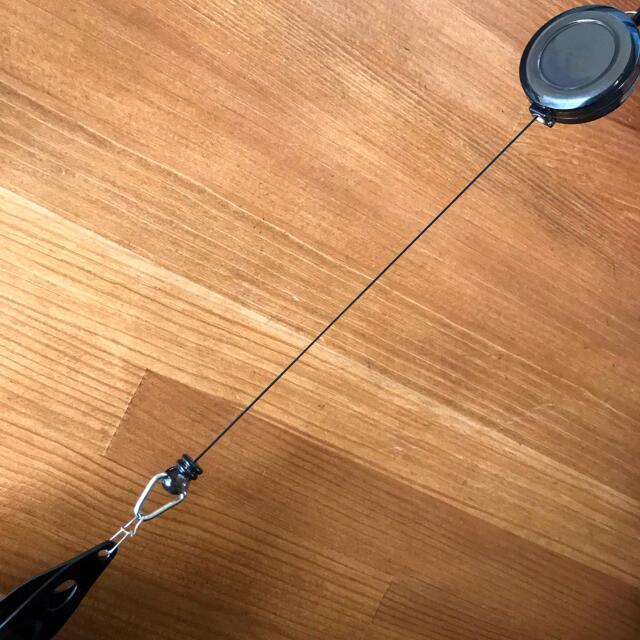ラインカッターDX ★ 2個セット(ジェットブラック) スポーツ/アウトドアのフィッシング(釣り糸/ライン)の商品写真
