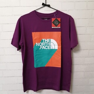 THE NORTH FACE - 【新品】THE NORTH FACE S/S 3D Logo Tee L 紫