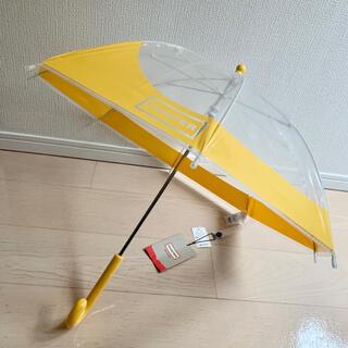 ハンター(HUNTER)の値下✨HUNTER 傘キッズ用59cmイエロー ハンター(傘)