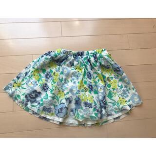 エムピーエス(MPS)のMPS 花柄 スカート キュロット サイズ110(スカート)