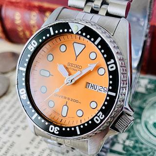 セイコー(SEIKO)の【高級時計 セイコー】seiko ダイバーズ 7S26 90年代 オレンジmod(腕時計(アナログ))