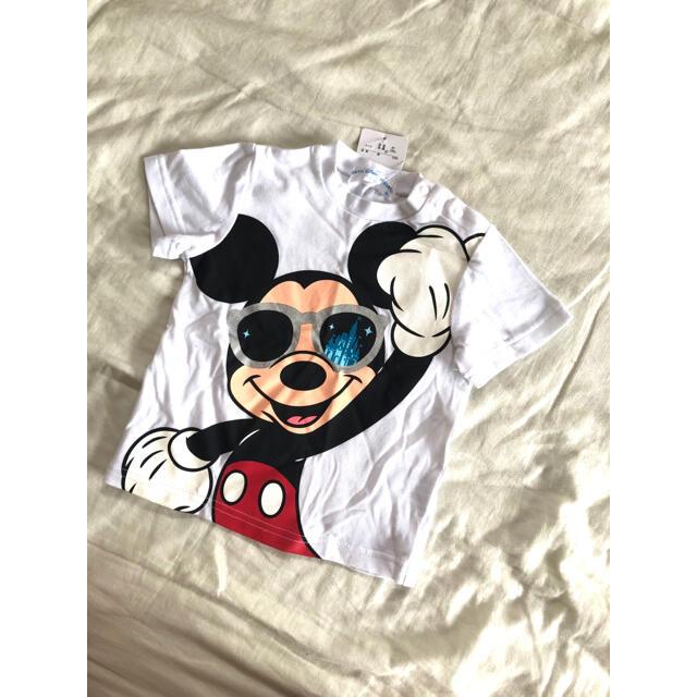 Disney(ディズニー)の新品 ディズニー Tシャツ 90 キッズ/ベビー/マタニティのキッズ服男の子用(90cm~)(Tシャツ/カットソー)の商品写真