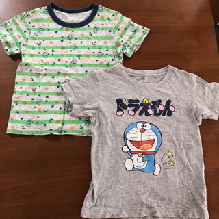 UNIQLO - 100 ユニクロ Tシャツ 2枚セット ドラえもん