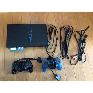プレイステーション2(PlayStation2)のps2本体 起動確認済み(家庭用ゲーム機本体)