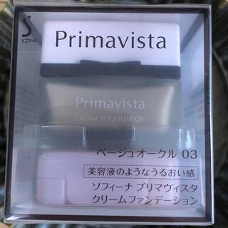 プリマヴィスタ(Primavista)のプリマヴィスタ クリームファンデーション ベージュオークル03(ファンデーション)